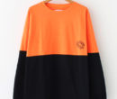 F-LAGSTUF-F|FB L/S TEE #ORANGE×BLACK [20AW-FS-47]